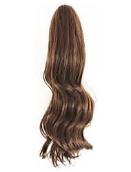 cheap -Curly Light Brown Synthetic Long Curly Hair Claw Clip Wig Ponytail