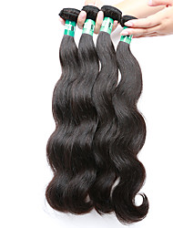 "4 Pcs/Lot 8""-30"" 100g/Piece Malaysian Virgin Hair Body Wave Human Hair Wefts"