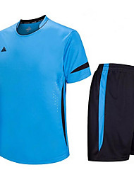 cheap -Others Kid's Short Sleeve Soccer Clothing Sets/Suits Breathable / Quick Dry / Wicking / Football / Running