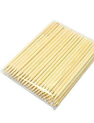 PINPAI 50PCS Nail Wooden Beauty Rhinestone Nail Products Stick 11Cm Long Wood