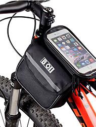 Bolsa para Cuadro de Bici Pack de Hidratación y Bolsa De Agua Bolso del teléfono celular 5.5 pulgada Móvil/Iphone Pantalla táctil Ciclismo