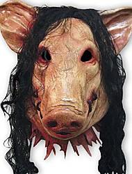 maschere di maiale raccapriccianti cosplay piena faccia halloween festa di compleanno Barty costume teatro gomma del partito maschera