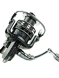 cheap -Fishing Reel Spinning Reels 5.5 Gear Ratio+6 Ball Bearings Exchangable General Fishing - BASIC 2000