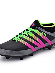 cheap -Soccer Shoes Men's Boys Football Boots AG Spike Microfiber Cleats Teenagers Profession Athletics Ultralight Medium cut  Shoes
