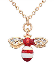 cheap -Lovely Little Bee Necklace Fashion Jewelry Accessories Elegant Style