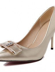 Women's Shoes Leatherette Spring / Summer / Fall Heels Heels Office & Career / Dress/queen extra large high heels