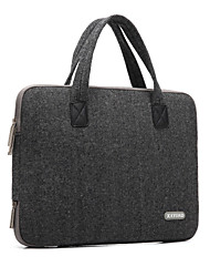 "cheap -Handbag for Macbook Air 13.3"" MacBook Pro 13"" with Retina display Solid Color Textile Material Woolen British Style Laptop Bag Notebook Computer Bags"