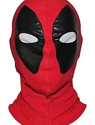 marvel super-héros masque deadpool tissu respirant faux cuir masque complet de halloween cosplay garder au chaud chapeau de passe-montagne
