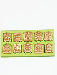 Thomas and Friends Train Silicone Mold for Chocolate Polymer Clay Candy Making Sugarcraft Tools Cake Decorations