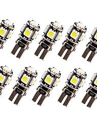 Недорогие -SO.K 10 шт. T10 Автомобиль Лампы 2.5 W 120 lm Светодиодная лампа Лампа поворотного сигнала For Универсальный