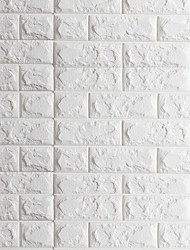 cheap -3D Brick Home Decoration Contemporary Wall Covering, PVC/Vinyl Material Self adhesive Wallpaper, Room Wallcovering