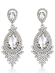 Women's Drop Earrings Fashion Bridal Elegant Costume Jewelry Rhinestone Alloy Drop Jewelry For Wedding Party Anniversary Gift Daily