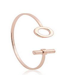 cheap -Gold Cuff Bangle Bracelet(set of 1)