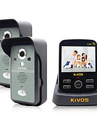 Supply KiVOS Wireless Doorbell Household Plug Electric Bell Two Drag A Video Intercom Camera Lock