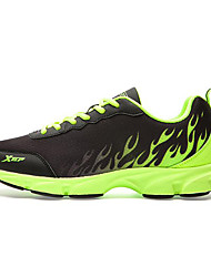 cheap -X-tep Running Shoes Casual Shoes Men's Anti-Slip Anti-Shake/Damping Waterproof Wearable Breathable Comfortable Zero Wear-in Time Mountain