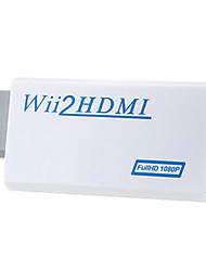 Windows 7 0.06M Support HD 1080P WII to HDMI Converter