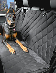 cheap -Dog Car Seat Cover Pet Carrier Waterproof / Portable Black Cotton