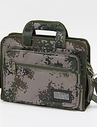 baratos -15 polegadas saco de camuflagem laptop / case para o exército verde negócio / estudante