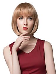 parrucca di capelli umani bella acconciatura senza cappuccio