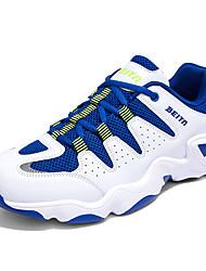 economico -Da uomo-Sneakers Zoccoli e ciabatte-Casual SportivoPiatto-Tulle-Blu Bianco Nero e bianco