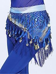 Danza del ventre Cintura Per donna Esibizione Poliestere 1 pezzo Cintura