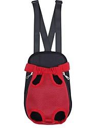Недорогие -Кошка Собака Переезд и перевозные рюкзаки передняя Рюкзак Животные Корпусы Компактность Однотонный Бежевый Лиловый Красный Синий Розовый