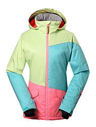 GSOU SNOW Skijacke Damen Skifahren Winter Sport Wasserdicht warm halten Windundurchlässig UV-resistant Isoliert