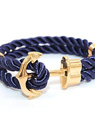 Punk Fashion Men's Bracelet Anchor Bracelet Alloy Bracelet Chain Bracelets / Wrap Bracelets Daily