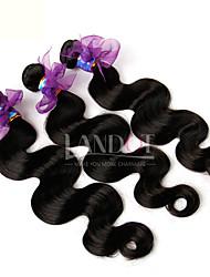 billige -Europæisk hår Krop Bølge / Klassisk Jomfruhår Menneskehår, Bølget 3 Bundler Menneskehår Vævninger