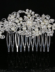 8.5 * 5.5 cm Hair Combs with Flower Butterfly Crystal for Lady Wedding Party