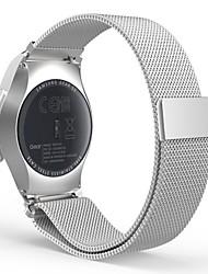 abordables -Bracelet de Montre  pour Gear S2 Classic Samsung Galaxy Bracelet Milanais Acier Inoxydable Sangle de Poignet