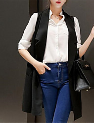 cheap -Women's Daily Street chic Summer Blazer