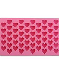 Недорогие -выпечке Mold Сердце Шоколад Пироги Торты Силикон Своими руками День Святого Валентина Высокое качество