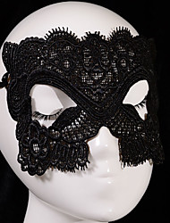 baratos -Máscaras de Dia das Bruxas Tema Jardim Férias Tema Clássico Tema Fadas Romance Fantasia Moda Família Tecido Traçado Artistíco / Retro