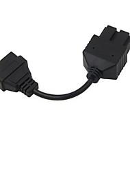 Недорогие -20 р 16 контактный БДС автомобиль преобразование линии квадрат 20-контактный разъем для КИА Кия длиной 7 см