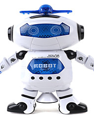 cheap -Robot LED Lighting Toys Music Singing Dancing Walking 360° Rotation Multi Function ABS Girls' Boys' 1 Pieces