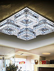 cheap -Modern/Contemporary Crystal LED Flush Mount Ambient Light For Living Room Bedroom Bathroom Kitchen Dining Room Study Room/Office Kids