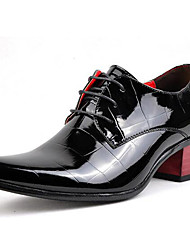 cheap -Men's Formal Shoes Patent Leather Spring / Fall Formal Shoes Oxfords Black / Party & Evening / Novelty Shoes
