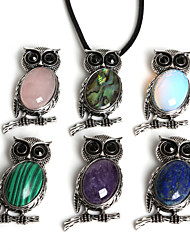 cheap -Women's Pendant - Owl, Peacock Fashion Pendant Pink / Black / Green / Green / Black For Daily