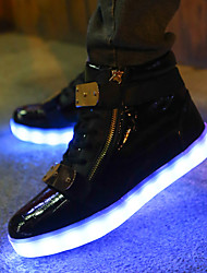 cheap -LED Light Up Shoes,Women's Fashion luminous shoes USB charging Best Seller Casual Shoes Black / White / Red