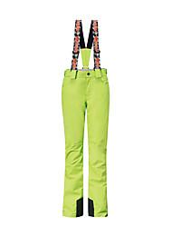 Gsou neve delle donne bretelle pantaloni da sci / snowboard / pantaloni doppie da snowboard / signore delle donne pantaloni da indossare