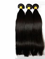 billige -malaysisk hår Lige / Klassisk Jomfruhår Menneskehår, Bølget 3 Bundler Menneskehår Vævninger / Ret