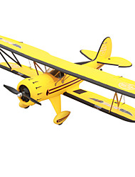 abordables -Avion RC Waco YMF-5D 5Canaux 2.4G 1:8 50KM / H KM / H Assemblement requis Moteur Sans Balais