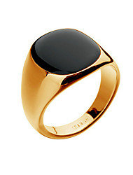 cheap -Men's Band Ring - 18K Gold Plated, Opal Fashion 8 / 9 / 10 Silver / Golden For Christmas Gifts / Party / Daily