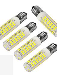 cheap -JIAWEN 400-480 lm E14 LED Corn Lights T 75 leds SMD 3528 Decorative Warm White Cold White AC 220-240V