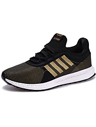 cheap -Running Shoes Men's Athletic Shoes Spring Summer Comfort PU Tulle Outdoor Athletic Casual Lace-up