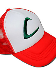cheap -Hat/Cap Inspired by Pocket Little Monster Ash Ketchum Anime/ Video Games Cosplay Accessories Hat Cap Terylene Men's