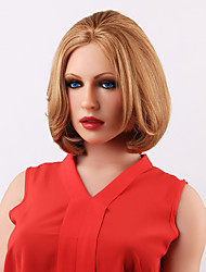 Charming Short Straight BOB Style Lace Front Human Hair