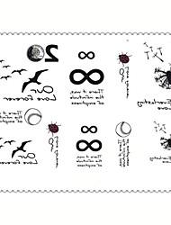 abordables -5 Non Toxique Motif Imperméable Dessin-Animé Séries bijoux Séries animales Séries de fleur Séries de totem Autres Dessins Animés