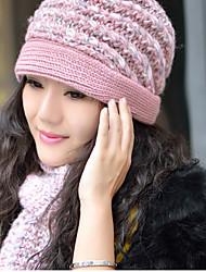 cheap -Women's Casual Wool Rectangle / Cute / Red / Purple / Pink / Winter